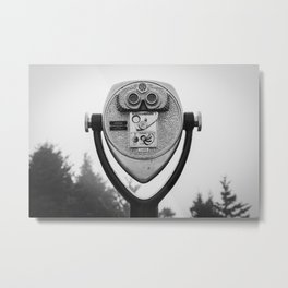 Coin Operated 04 B&W Metal Print