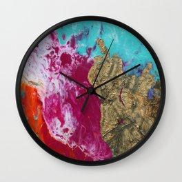 FLUID NINE Wall Clock