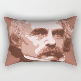 Nathaniel Hawthorne Rectangular Pillow