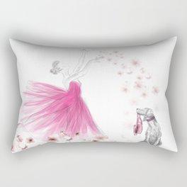 DANCE OF THE CHERRY BLOSSOM Rectangular Pillow