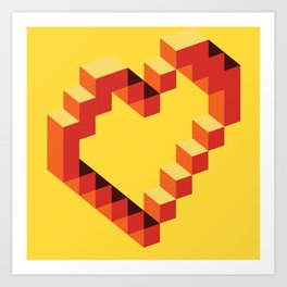 Love 32 Art Print