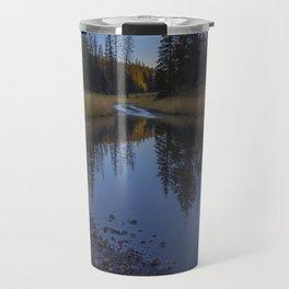 Backroad pond Travel Mug