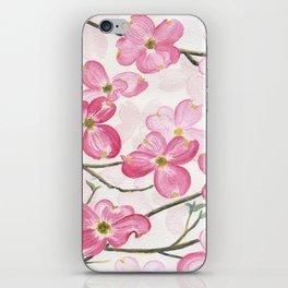 Pink Dogwood iPhone Skin