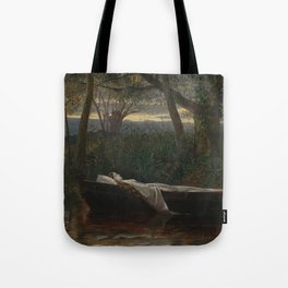 Walter Crane - The Lady of Shalott Tote Bag