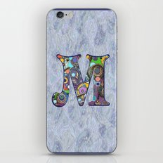 The Letter M iPhone & iPod Skin