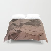 """witchcraft Duvet Covers featuring """"Witchcraft"""" - Fifty Shades of Grey by Virginieferreux"""