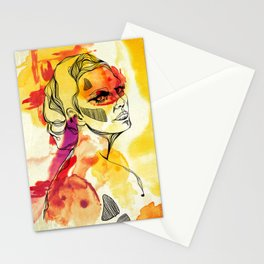 Woman #02 Stationery Cards