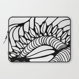 Shell of Abstract Laptop Sleeve