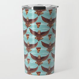 food eagle pizza Travel Mug