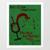 Big Cork Music Poster Art Print