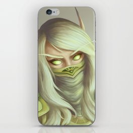 Blood Elf iPhone Skin
