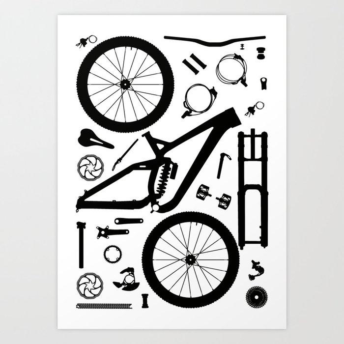 Downhill Bike Parts