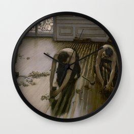 Gustave Caillebotte - The Floor Planers Wall Clock