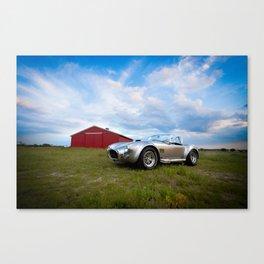 Barn Find - Classic 1965 Shelby Cobra Canvas Print