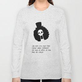 Blague de squelette 1 Long Sleeve T-shirt