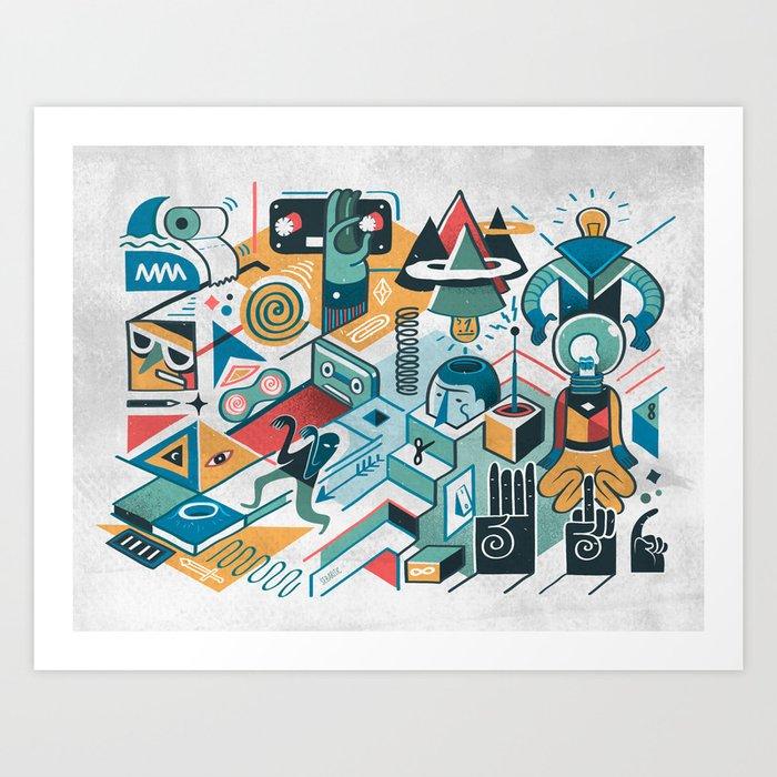 mindstream Art Print