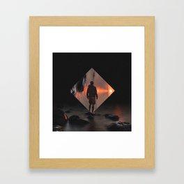 Sunset Portal Framed Art Print