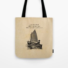 Ernest Hemingway - The Old Man and the Sea Tote Bag