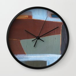 Working Harbour Wall Clock