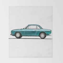 Lancia Fulvia Throw Blanket
