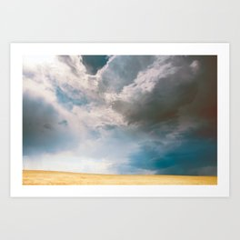 A Light in the Storm Art Print