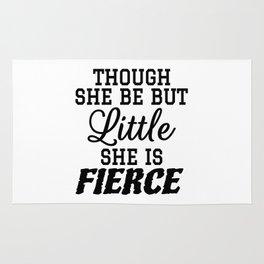 Little & Fierce Rug