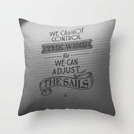 Lido words of wisdom Throw Pillow