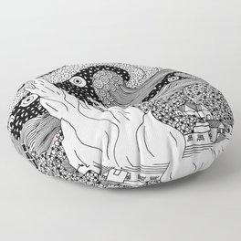 Van Gogh - Starry Night Floor Pillow
