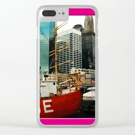 Americana - Pier 17 - Manhatten - NYC Clear iPhone Case