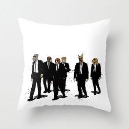 Reservoir Dawgs Throw Pillow