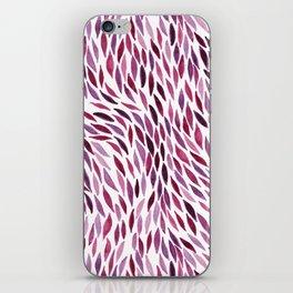 Flow - Ruby iPhone Skin