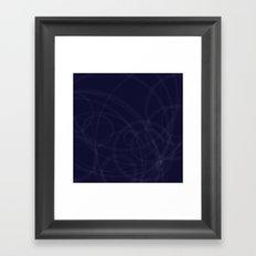 Circles galore Framed Art Print