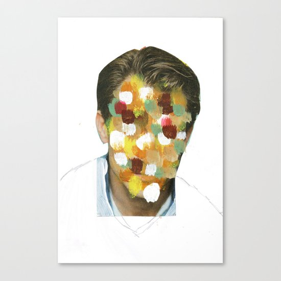 Color Portrait Disaster Canvas Print