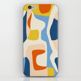 Me & Mine #abstract #painting iPhone Skin