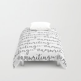 #amwriting  Duvet Cover