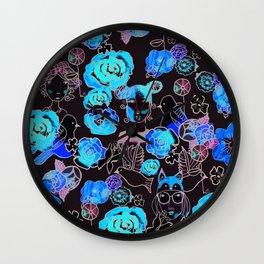 Flower girls Wall Clock