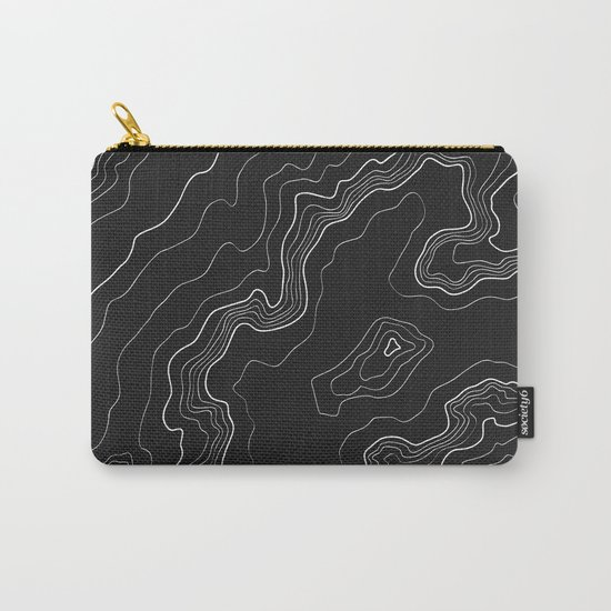Black & White Topography map by mydream