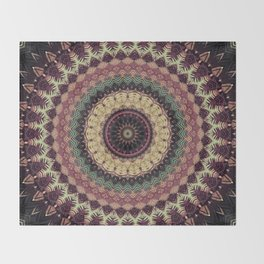 Mandala 273 Throw Blanket