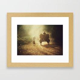Asia 21 Framed Art Print