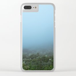 Fog-get About It Clear iPhone Case