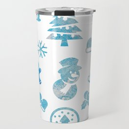 Winter Theme Travel Mug