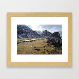 Unstad Framed Art Print