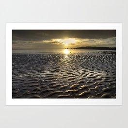 Swansea Bay morning Art Print
