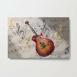 WHILE MY GUITAR GENTLY WEEPS Metal Print