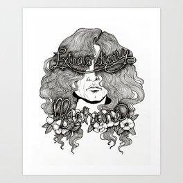 Extraordinary Machine Art Print