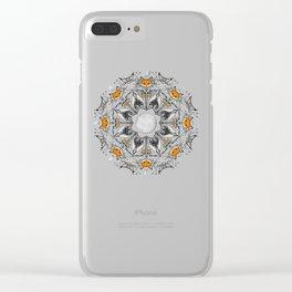 Pacific Mandala Clear iPhone Case