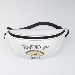 Cute Funny Taco Foodie Gift - Pastel Kawaii Mexican Food Lover Fanny Pack