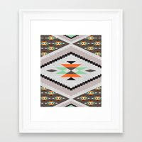 navajo Framed Art Prints featuring Navajo by Priscila Peress