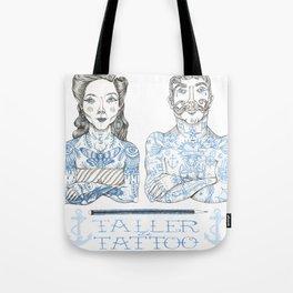 Taller Tattoo Tote Bag
