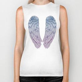 Angel Wings Biker Tank